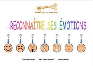 reconnaitre ses emotions